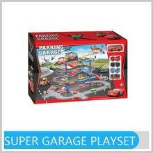 Most Popular Plastic DIY Super Garage Toy Plastic Gift Item for Kids