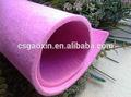 3mm gruesa de color poliéster alfombra de fieltro