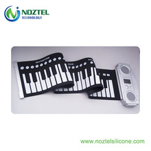 Gift items for children 61 keys roll up piano keyboard