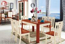 modern mediterranean style wood dinning chair