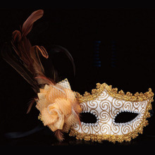 New Design Masquerade Feather Mask For Party Decoration