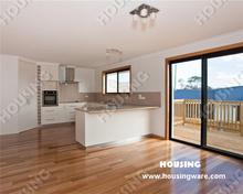 U shape lacquer finish kitchen cabinet,MDFlacquer door,Blum hardware