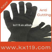 Black cut resist Anti-scratch knife gloves