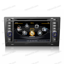 Touch screen car auto parts for audi A8 with gps navigation & car multimedia player