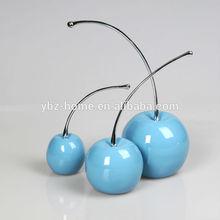 Elegant creative modern resin cherry decoration
