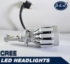New generation cree waterproof car h4 led headlight bulbs