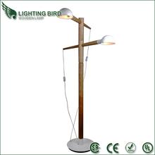 مصباح الطابق خشبية اللون الطبيعي مصنع الجنس الاميركية نماذج المصنوعة في الصين