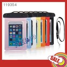 2014 Waterproof Swimming Plastic Mobile Phone WaterProof Bag for iphone 6 4.7inch