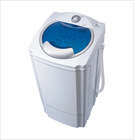 Commercial plastic super portable semi automatic spin dryer for baby clothes canton fair booth no:1.2C 17 18 19
