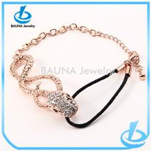Wholesale alibaba silver color alloy material snake bracelet