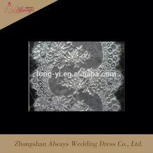 Hot sale china manufacturer dyeable cotton lace trim