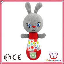 GSV SEDEX Factory wholesale cute baby plush toys top 10 baby toys