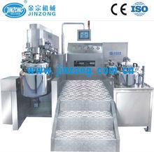 Jinzong Machinery automatic vacuum emulsifying mixer machine