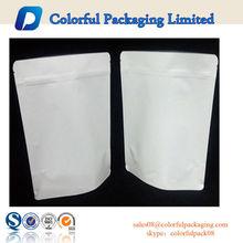 500g !!stand up Kraft paper tea /coffee bag with zip tea bag