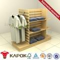 China foshan móveis tampa/chapéu/roupas display/stand projetos de fábricas na china
