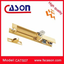 sliding window two-sided with key security lock