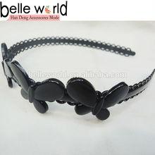 Wholesale Black Hair Band Hoop Headband Gift