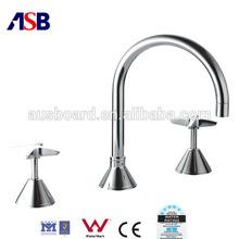 2014 Hot sale three-pcs series basin faucet,watermark faucet, tapware, basin mixer