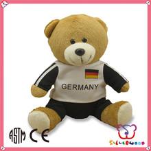 ICTI Factory custom wholesale handmade stuffed valentines day stuffed animals