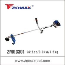 ZMG3301 33cc 0.9kw bike handle brush cutter japanese keihin carburetor