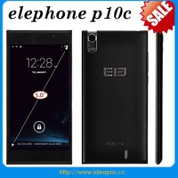 elephone p10c mobile mtk6582 GSM WCDMA 5inch ultra-slim bar touch screen mobile phone