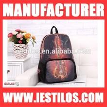 Hot sale school backpack for girl waterproof air brush oxford backpack wholesale GT-1
