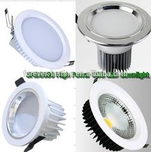 3 inch 4 inch 5 inch 6 inch 7 inch 8 inch LED Downlight round led downlight
