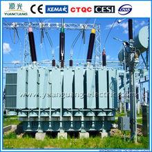 110kv sealed oil filled Power Transformer high voltage transformer oil
