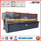 QC11K-60X5000 metal sheet hydraulic shearing guillotine type machine