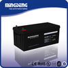 High quality hot sale 12v 200ah dry cell rechargeable battery