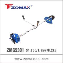 ZMG5301 52cc 1.4kw bike handle brush cutter japan honda parts