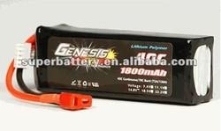 (SR-LP1800) 4S 1800mAh li ion polymer 40C li-ion Lithium Polymer rechargeable rc lipo 14.8v li-polymer battery