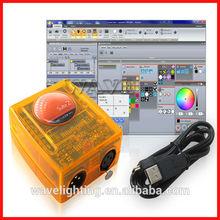 Hot Siud WLK-2008 sunlite 1 and sunlite 2 USB dmx 512 sunlite suite 2 bc