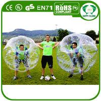 HI CE best quality TPU/PVC bumper ball for kids,cheap bumper ball inflatable ball,kids body zorb/ body bumper ball