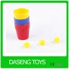 Plastic magic cups and balls 2014