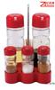 Popular type glass olive oil and vinegar bottles with plastic rack