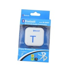 Wireless Bluetooth A2DP Stereo Audio Music Transmitter Dongle Adapter.Audio Transmitter Adapter For iPod TV PC MP3 MP4 Cell Phon