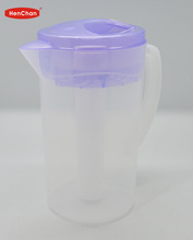 Plastic promotion pitcher with cooler tube for Canton Fair