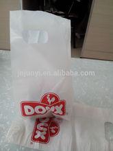 White die cut bags for cake