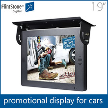 Flintston19 inch fashion digital signage taxi video advertising player for promotion