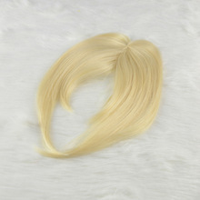 wholesale high quality 100 indian human remy clip big hairpiece fringe hair bangs
