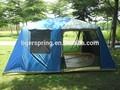 10 pessoas barraca de acampamento com dois quartos e um salão