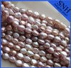 9-10mm AAA grade purple coor wholesale pearl string