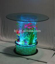 LED lighting large acrylic aquarium