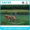 big metal backyard dog kennel