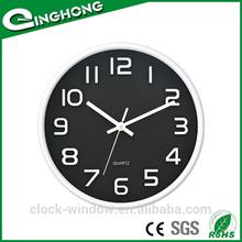 2014 Fashion design Plastic 28.5cm quartz wall clock movement
