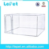hot selling galvanize tube portable fabric traveling pet dog crate cage