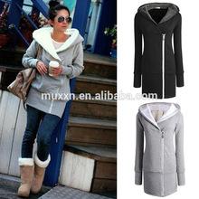 Wholesale 2014 European Stylish Warm Cotton Korea Fashion Winter Coat For Women