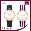 Best fancy simple style nylon band man watch 3atm western japan movement vogue watch with stainless steel back