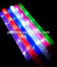 4 bulbs single color LED flashing stick